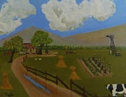Swing Paintings - Farm Life 2 by Tanja Beaver