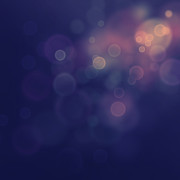 New Element Posters - Festive bokeh background Poster by Mythja  Photography