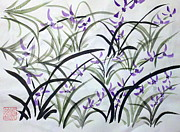 Margaret Welsh Willowsilk - Field of Orchids