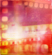 Filmstrip Art - Film negatives  by Les Cunliffe
