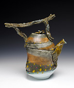 Coffee Ceramics - Fish Teapot by Mark Chuck