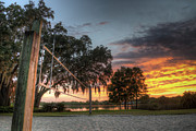 Florida Landscape Photography Prints - Florida Sunset Print by Clay Townsend