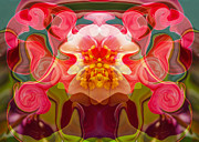 Hdr Look Mixed Media Prints - Flower Child Print by Omaste Witkowski