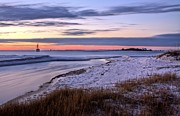Pensacola Beach Prints - Flowing Print by JC Findley