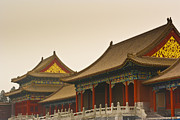 Architectural Feature Photos - Forbidden City by Juan  Silva