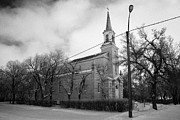 former st josephs catholic church in Forget Saskatchewan Canada Print by Joe Fox