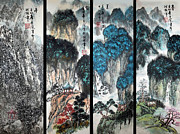 Gifts Originals - Four Seasons in Harmony by Yufeng Wang