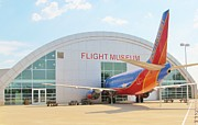 Companies Prints - Frontiers of Flight Museum  Print by Donna Wilson