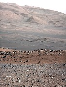 Science Photo Library - Gale Crater landscape,...
