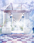 Gateway To Heaven Print by Rudy Umans