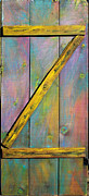 With Sculpture Metal Prints - Gateway to Z Universe Metal Print by Asha Carolyn Young