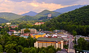 Incline Photo Posters - Gatlinburg Tennessee Poster by Robert Harmon