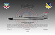 General Dynamics F-111f Aardvark Print by Arthur Eggers