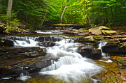 Turbulence Prints - Gentle Falls Print by Robert Harmon