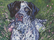 Shorthaired Prints - German Shorthaired Pointer Print by Lee Ann Shepard