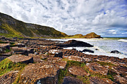 Stone Art - Giants Causeway by Marcia Colelli
