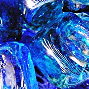 Avant Garde Photos - Glass Abstract 127 by Sarah Loft