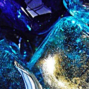 Avant Garde Photos - Glass Abstract 37  by Sarah Loft