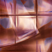 Translucence Posters - Glass Abstract Poster by Carol Leigh