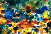 Glass Flowers Print by Ernesto Cinquepalmi