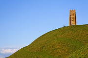 Tor Photo Framed Prints - Glastonbury Tor Framed Print by Robert Preston