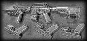 Glock Print by Lee Dos Santos