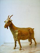 Goat Sculptures - Goatling by Nikola Litchkov