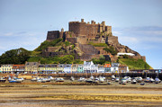 Channel Metal Prints - Gorey castle - Jersey Metal Print by Joana Kruse