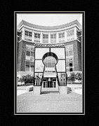 Matting Framed Prints - Government Offices Columbia Missouri Framed Print by Charles Feagans