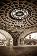 Apartment Prints - Grand Rotunda Pennsylvanian PIttsburgh Print by Amy Cicconi