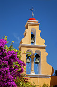 Corfu Prints - Greek Church Bells Print by Brian Jannsen