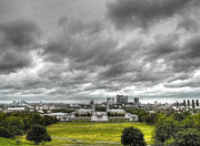 Royal Naval College Metal Prints - Greenwich and Docklands HDR Metal Print by David French