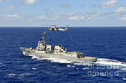 Featured Art - Guided-missile Destroyer Uss William P by Stocktrek Images