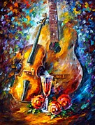 Leonid Afremov - Guitar And Violin