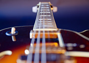 Guitar Print by Stylianos Kleanthous
