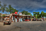 Hackberry General Store On Route 66 Print by Lynn Jordan