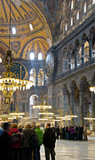 Hagia Sophia Scene Four Print by Cliff C Morris Jr