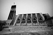 Nord Prints - Hammerfest Church Finnmark Norway Europe Print by Joe Fox