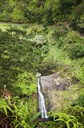 Featured Prints - Hana Waterfall Print by Jenna Szerlag