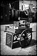 Pushcart Posters - Hand Cart Poster by Chris Smith