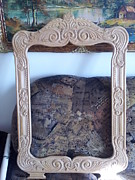 Frame Sculptures - Hand carved frame by Dorin Nastase