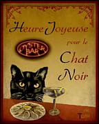 Noir Digital Art - Happy Hour by Laura Toth