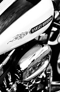 Harley Davidson Photos - Harley Davidson Monochrome  by Tim Gainey