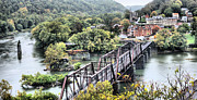 Csx Framed Prints - Harpers Ferry Framed Print by JC Findley