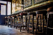 Pubs Prints - Have a Seat Print by Heather Applegate