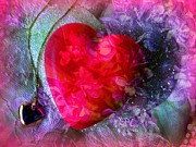 Design With Photography Prints - Heart of My Heart Print by Shirley Sirois