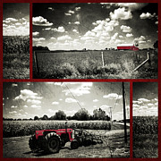 Farm Equipment Digital Art - Heartland by Natasha Marco