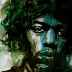 Hendrix Print by Paul Lovering
