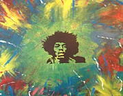 Scott Wilmot Metal Prints - Hendrix Metal Print by Scott Wilmot