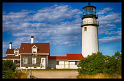 New England Lighthouse Digital Art - Highland lighthouse by Jeff Folger